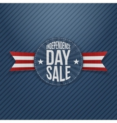 Independence Day Sale circle Tag vector image vector image