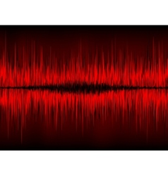 Abstract waveform background vector image