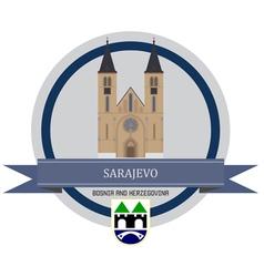 Sarajevo vector image vector image