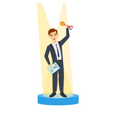 Success in the workflow business ideas relations vector