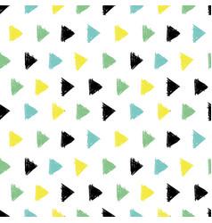 abstract hand drawn black green yellow vector image