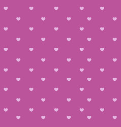 abstract heart seamless pattern background hand vector image