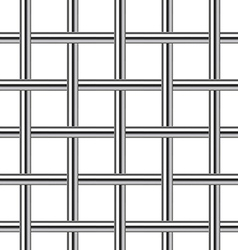 chrome metal grid seamless background vector image