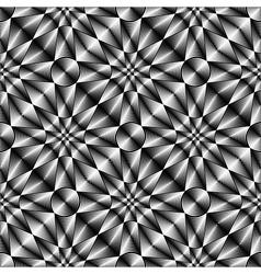 Design seamless geometric trellised pattern vector