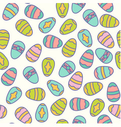 Easter seamless patern design vector