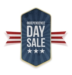 Independence Day Sale festive Banner vector image