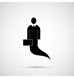 People design Icon man with tale vector image vector image