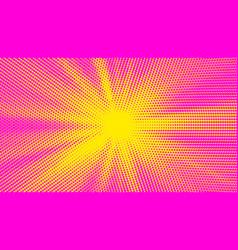 pink halftone pop art background abstract comics vector image