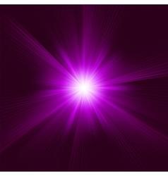 Purple Star Burst Background vector