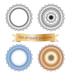 Set of round geometric vector