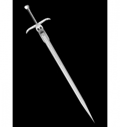 sword of death vector image