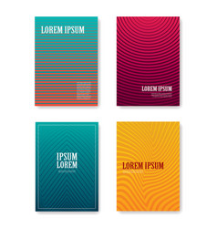 minimal abstract covers gradients design with vector image