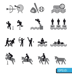 ICONS Sport vector image