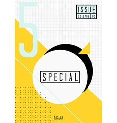 Abstract Cover Design vector
