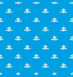 beet pattern seamless blue vector image