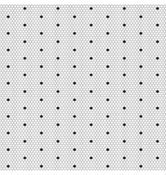 Dot lace seamless pattern net vector