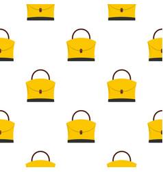 little woman bag pattern seamless vector image