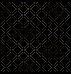Modern seamless golden pattern vector