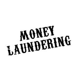 Money Laundering rubber stamp vector