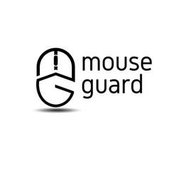 Mouse guard logo vector