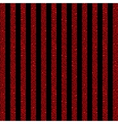 Parallel Vertical lines Red sequins Stars vector