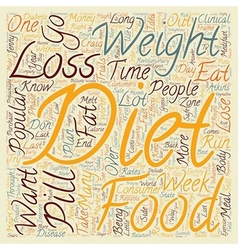 Popular Diet Comparisons text background wordcloud vector