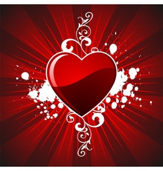 Valentines day hearth vector