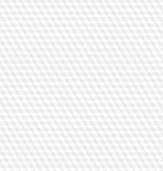 White hexagon seamless background vector image