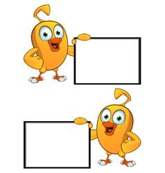 Cartoon Chick Board vector image