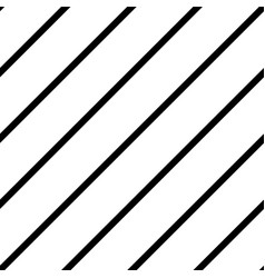 black and white simple seamless striped pattern vector image