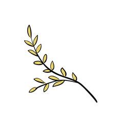 branch tree summer clipart vector image