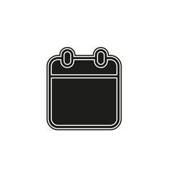 calendar event reminder vector image