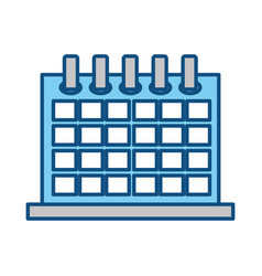 Calendar event schedule vector