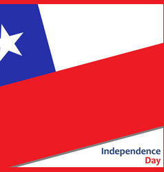 Chile independence day vector