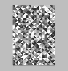 geometrical polygonal seamless mosaic triangle vector image
