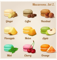 Macaroons Set 2 vector