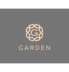 Premium letter G logo icon design Luxury vector