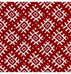 Russian textile seamless pattern vector image