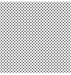 seamless pattern crosses texture vector image