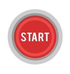 start button power button vector image