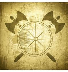 Viking Grunge Background vector