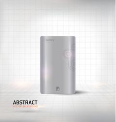 Energy bank battery vector