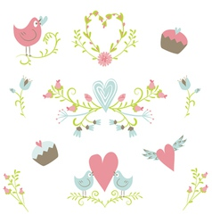 Valentines Day collection 2 vector image