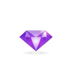 Diamond icon isolated logo concept of vector image vector image