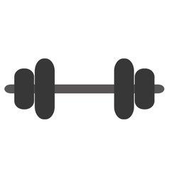 Barbell icon design vector