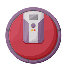 Cleaner robot iconcartoon icon vector