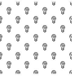 global bulb pattern seamless vector image