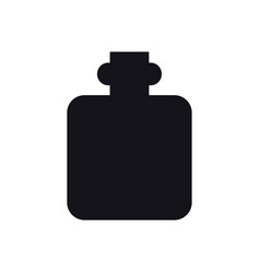 hip flask icon camping sign and symbol alcoho vector image