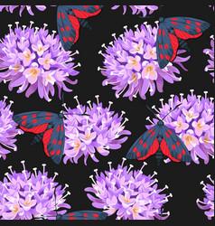 Meadow flowers seamless vector