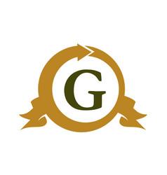 Modern logo solution letter g vector